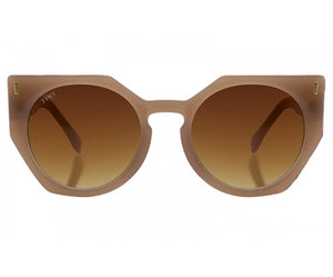 TIWI VENUS SHINY COCONUT WITH GRADIENT BROWN LENSES