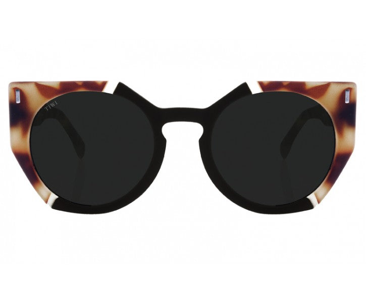 TIWI VENUS RAY EDITION RUBBER TORTOISE/BLACK WITH BLACK LENSES