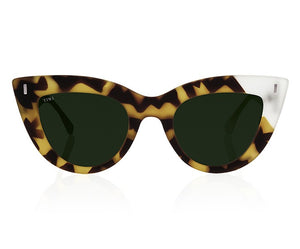 TIWI YUNON RUBBER GREEN TORTOISE/ICE WITH CLASSIC GREEN LENSES