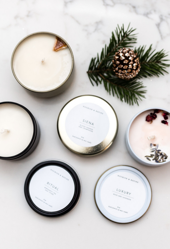 Nourish & Refine Candle Collection Set