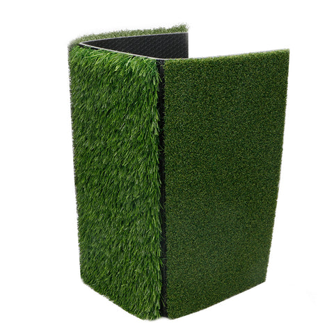 Golf Mat 3in1 Foldable - Practice Turf Backyard or Indoor Chipping Hitting Mat