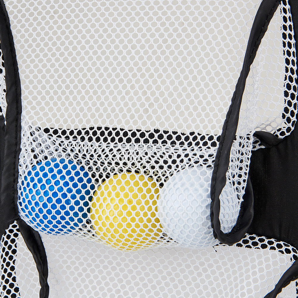 Golf Chipping Hitting Trainer net Portable Sui Intended Fold Superimposed