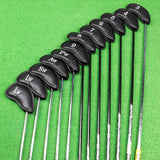 Golf Club Covers Iron for Mens Head Cover Set 12pcs/lot PU Leather Waterproof Fit All Brands