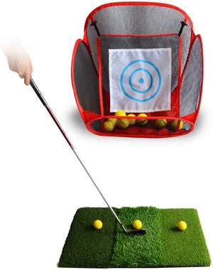 Golf Hitting Net Portable Training Aids Practice Nets Practice Goal Tent for Backyard Practice Chipping