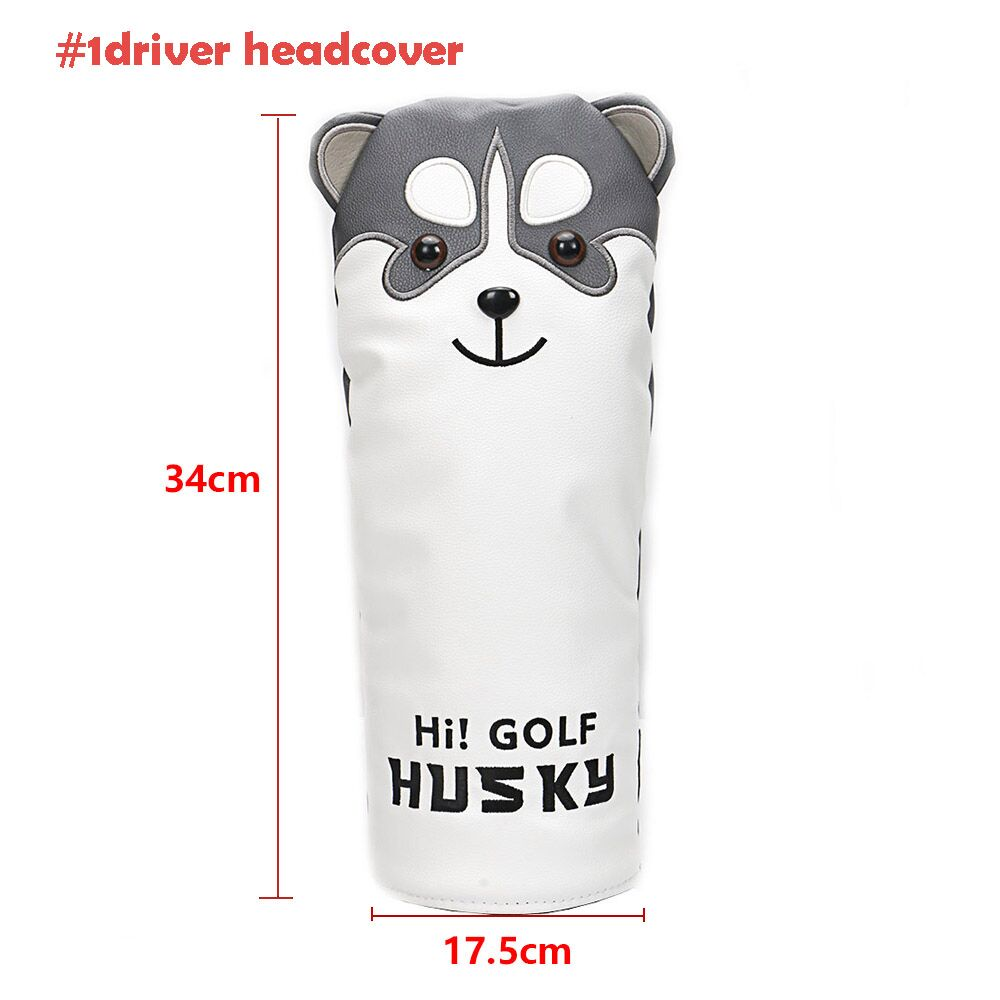 golf diver head cover for golf clubs golf driver Animal club driver Cartoon #1 #3 #5 Woods PU Leather