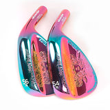 Golf Clubs wedges Mythos Colorful color 50/52/56/58/60 Degree Steel Shaft ueunisex right handed