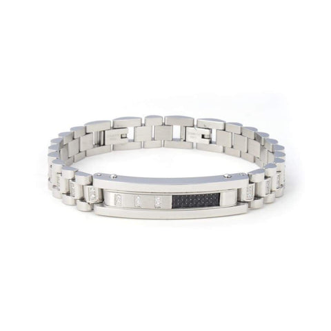 Giorgio Milano Stainless Steal Gold & Silver Bracelet - Majesty Jeweler