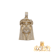 Jesus Pendant 14K - Majesty Jeweler
