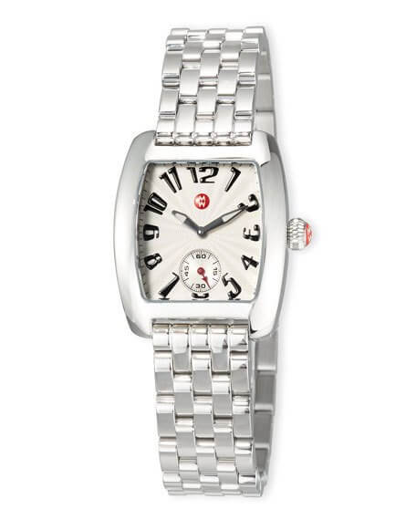 Michele Urban Mini Stainless Steel Bracelet Watch - Majesty Jeweler