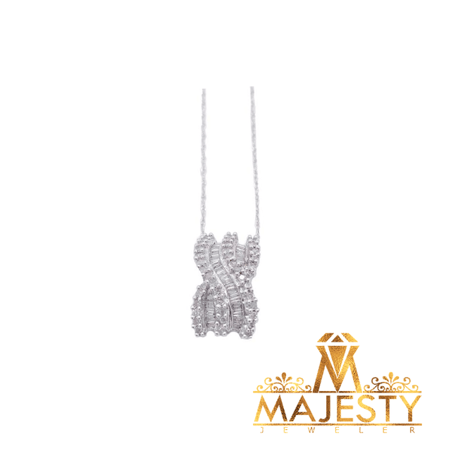 New Beginnings Necklace with Diamonds - Majesty Jeweler
