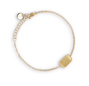 Marco Bicego Delicati Murano 18K Rectangle Bead Bracelet - Majesty Jeweler