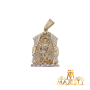 Saint Lazarus House Pendant 14K - Majesty Jeweler