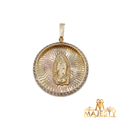 Mother Mary Pendant 14K - Majesty Jeweler