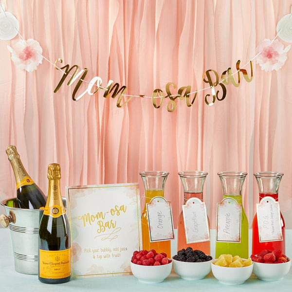 A Bubbly Themed Baby Shower Inspiration