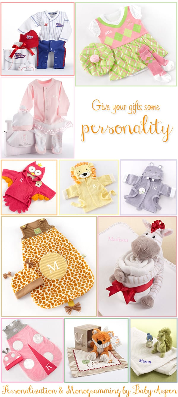 Personalization & Monogramming by Baby Aspen
