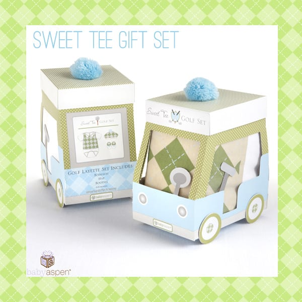 Baby Golfer Outfit | Giveaway | Baby Aspen | babyaspen.com | blog.babyaspen.com | #babygifts #babyaspen #babygolfer #win