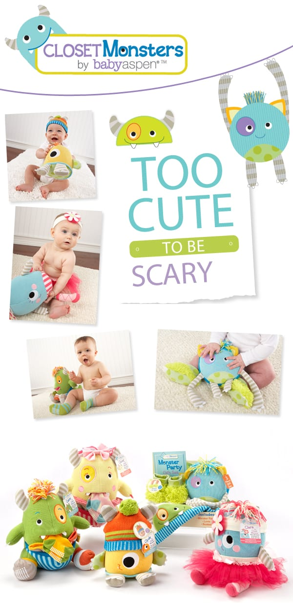 Baby Aspen Closet Monsters are Too Cute to be Scary!