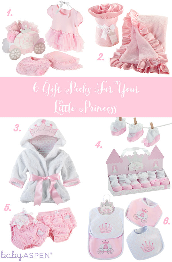 Baby Aspen Little Princess Collection of Royal Baby Gifts for A Girl
