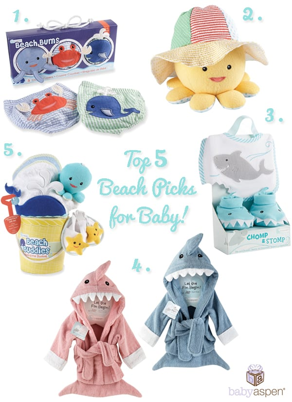 Top Picks for Beach Bound Babies!