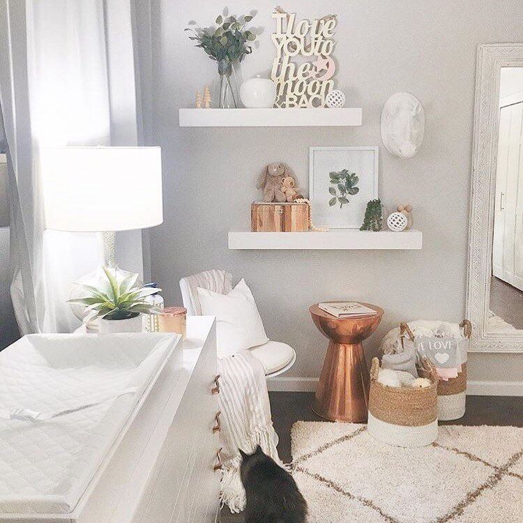 Copper Tone Nursery | 5 Trendy and Unique Nursery Themes for 2017 | Baby Aspen