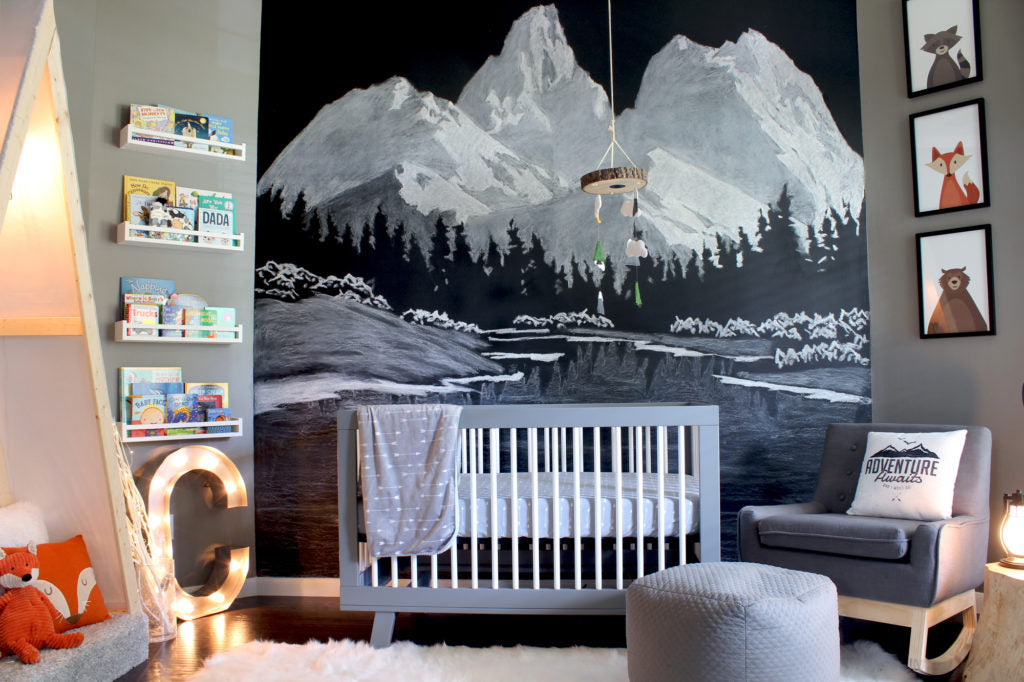 Mountain Themed Nursery | 5 Trendy and Unique Nursery Themes for 2017 | Baby Aspen