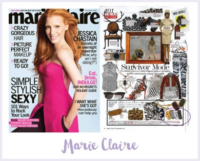 Marie Claire-Safari Socks