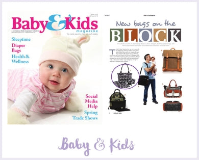 Baby & Kids Magazine-Diaper Bag