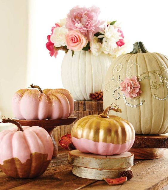 Pink Pumpkins | 5 Tips When Throwing a Festive Fall Baby Shower | Baby Aspen