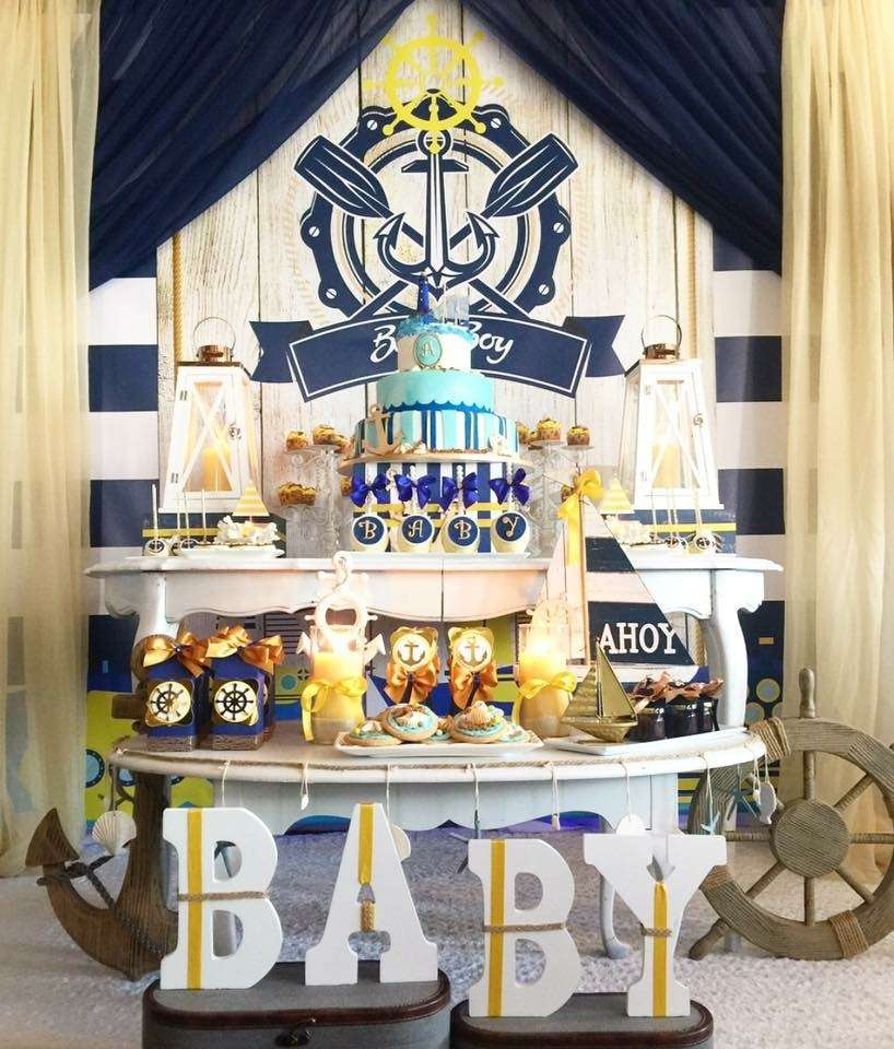 Ahoy It's a Boy | 8 Baby Shower Themes for Boys | Baby Aspen