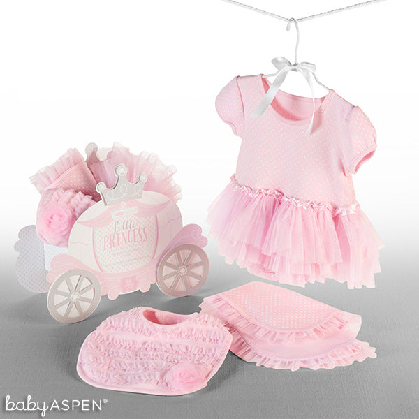 pink princess gift set from Baby Aspen