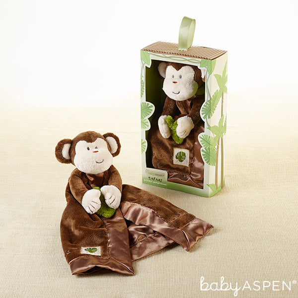 Minki the Monkey Lovie from Baby Aspen