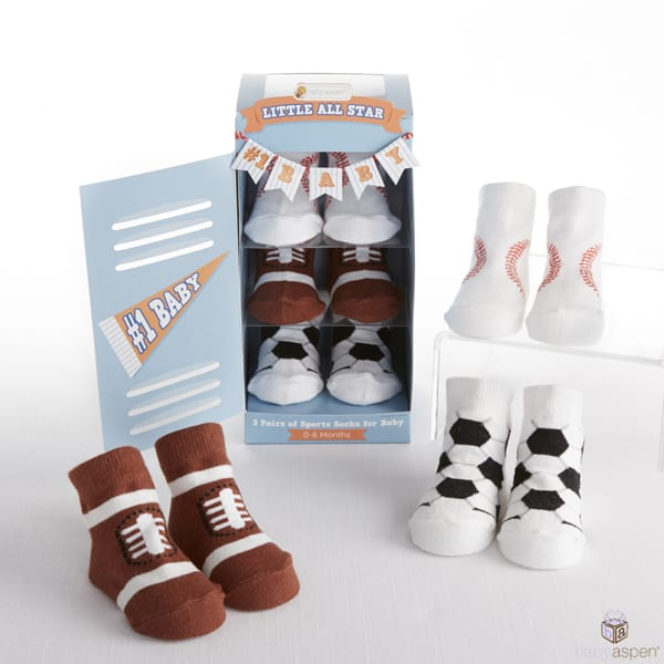 Little All-Star Collection from Baby Aspen | Baby Sports Socks | Baby Aspen | babyaspen.com | blog.babyaspen.com