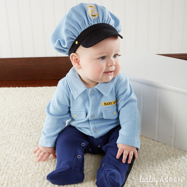 Baby Police Officer costume from Baby Aspen
