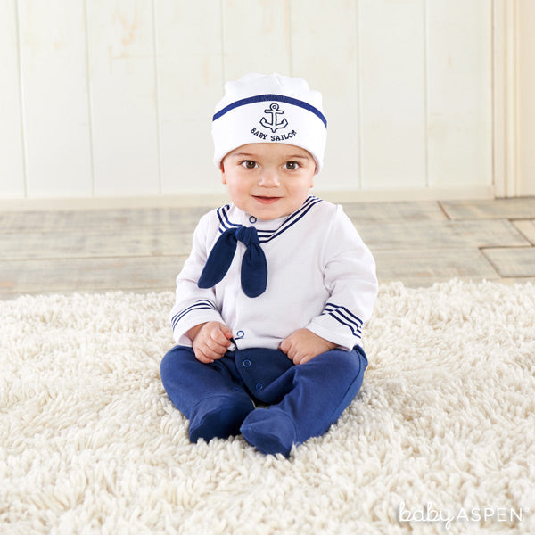Baby Sailor Costume from Baby Aspen