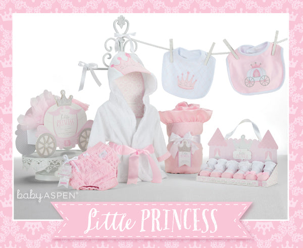 Baby Aspen Spring 2015 New Arrivals | Little Princess Collection | Princess Themed Baby Gifts | Pink Baby Gifts