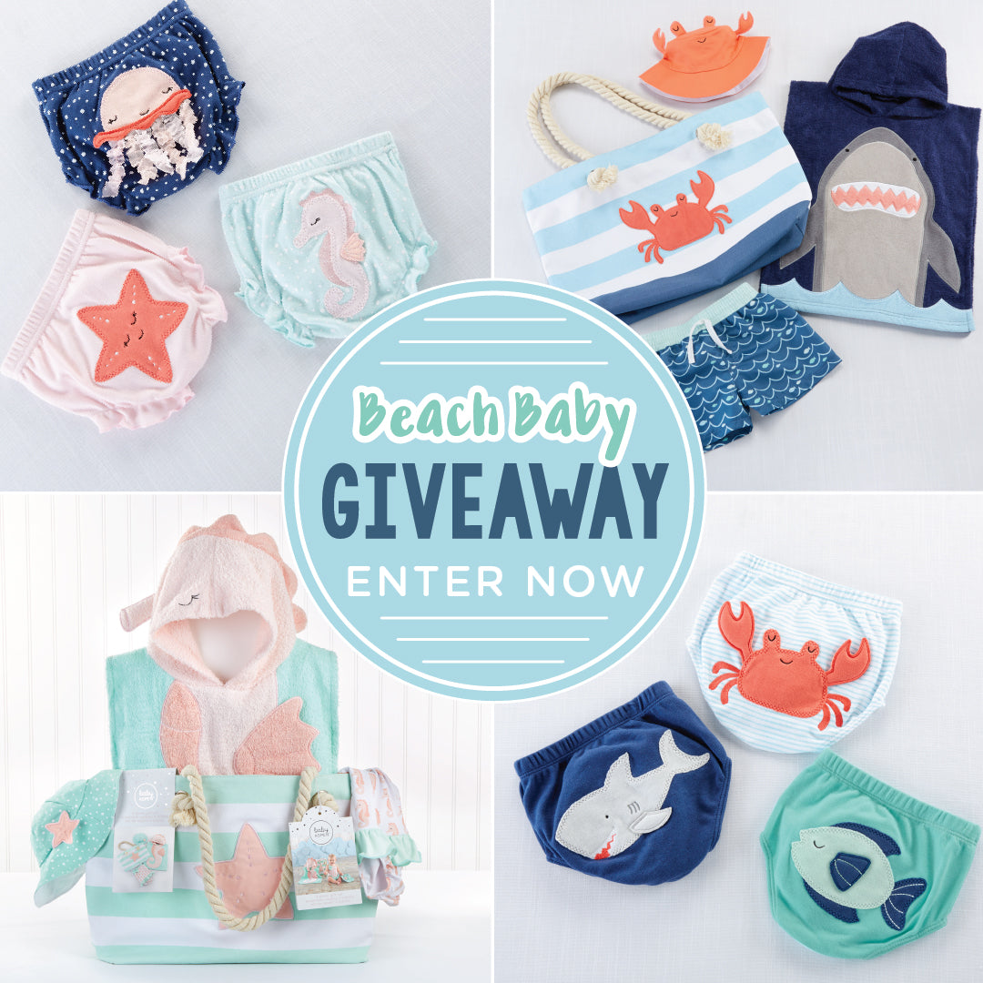 Brilliant Beach Baby Gifts + A Giveaway | Baby Aspen
