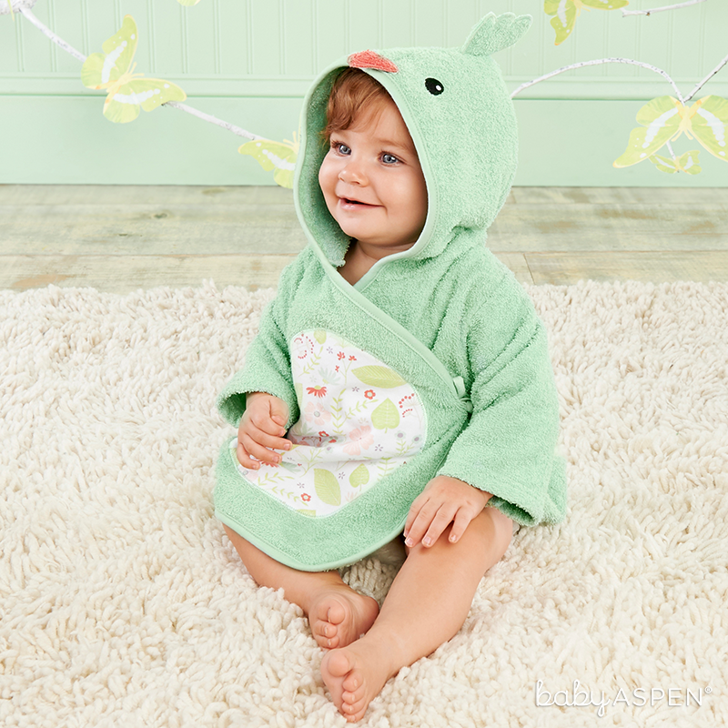 Bird Robe for Baby | Sweet Baby Blossom Collection by @BabyAspen