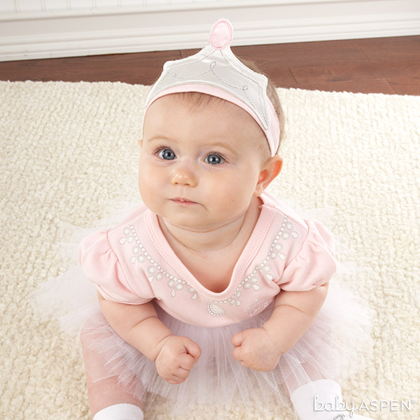 Baby in Princess Outfit | Baby Aspen