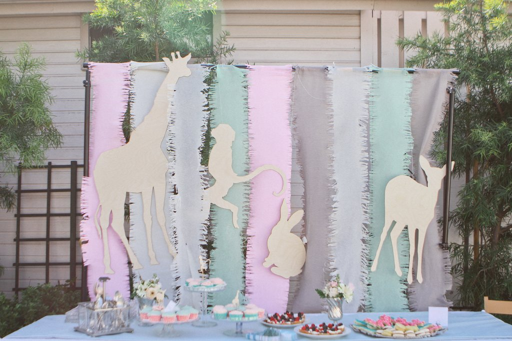 A Sweet Animal Baby Shower | 8 Baby Shower Themes for Girls | Baby Aspen