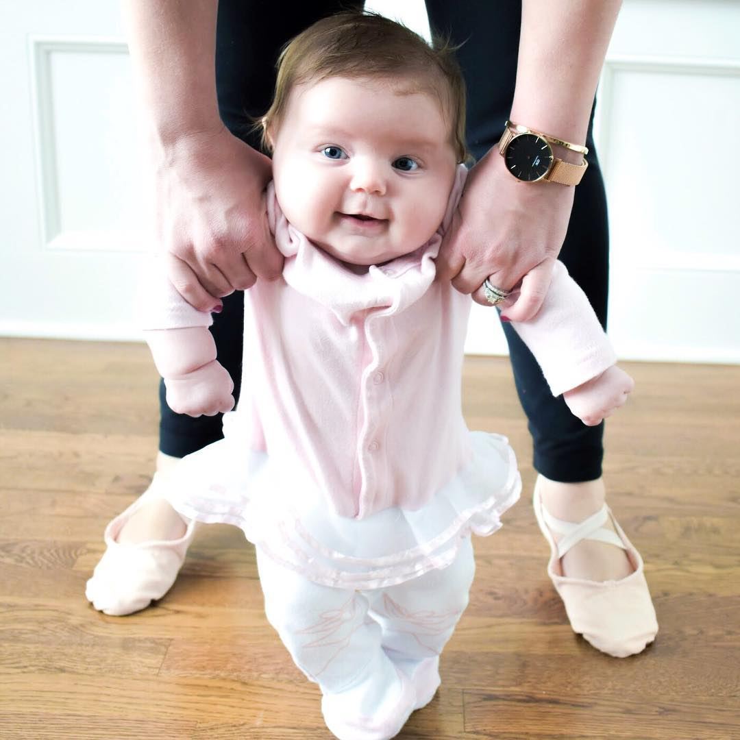"""Big Dreamzzz"" Baby Ballerina 2-Piece Layette Set 