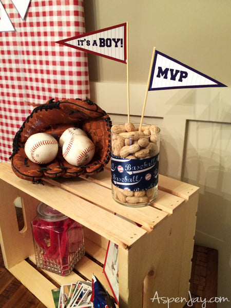 Batter Up | 8 Baby Shower Ideas for Boys | Baby Aspen