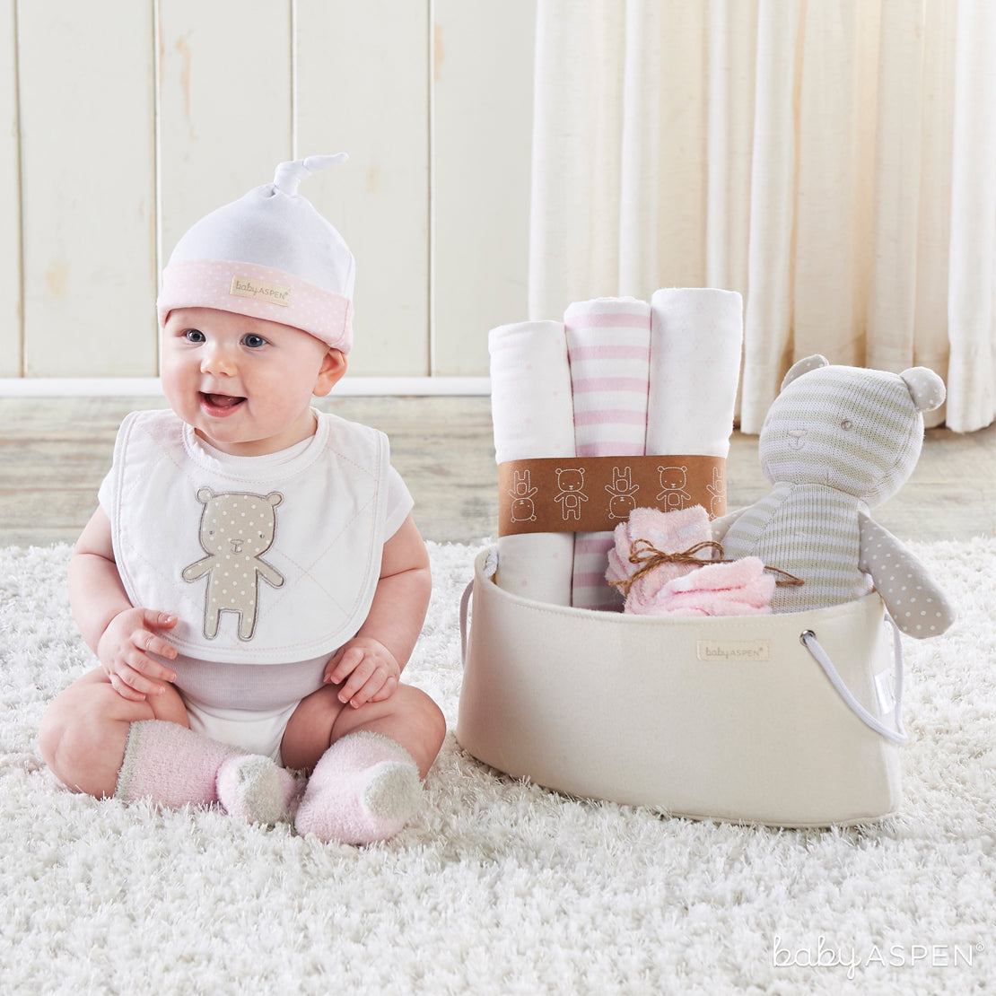 Beary Special Gift Set With Baby | Unique Gift Sets Perfect For Any Baby Shower | Baby Aspen
