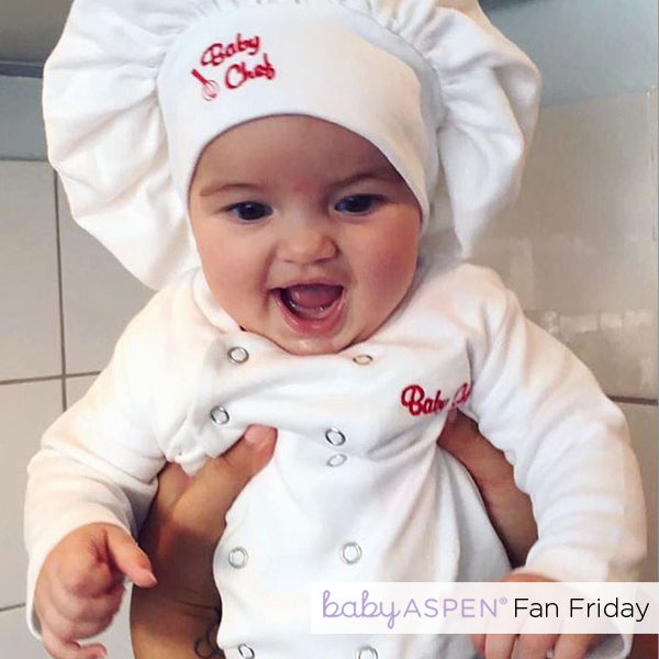 Big Dreamzzz Baby Chef   Fan Friday: A Cheery Little Chef   Baby Aspen