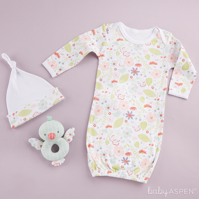 Home Tweet Home Three Piece Baby Gift Set  | Sweet Baby Blossom Collection by @BabyAspen