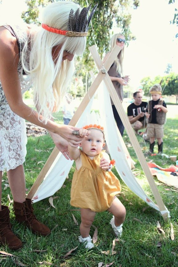 Boho Inspired First Birthday by Kelli Murray via Fawn Over Baby