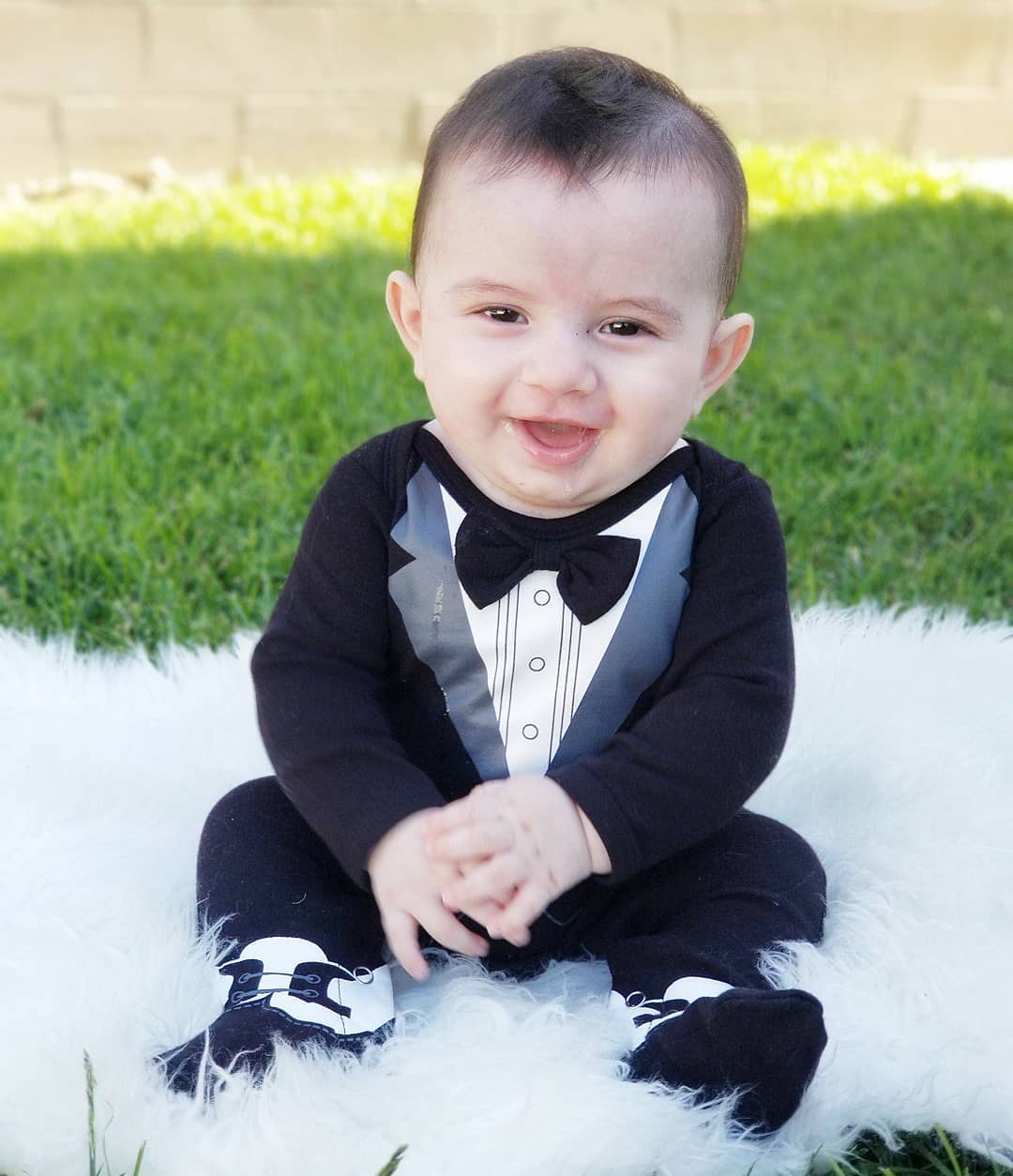My First Tuxedo | Baby Halloween Costume Ideas | Baby Aspen