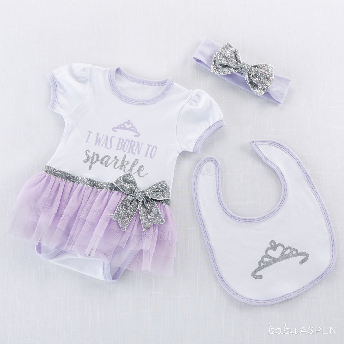 Born To Sparkle Outfit | Magical Gifts For Your Fairy Princess | Baby Aspen