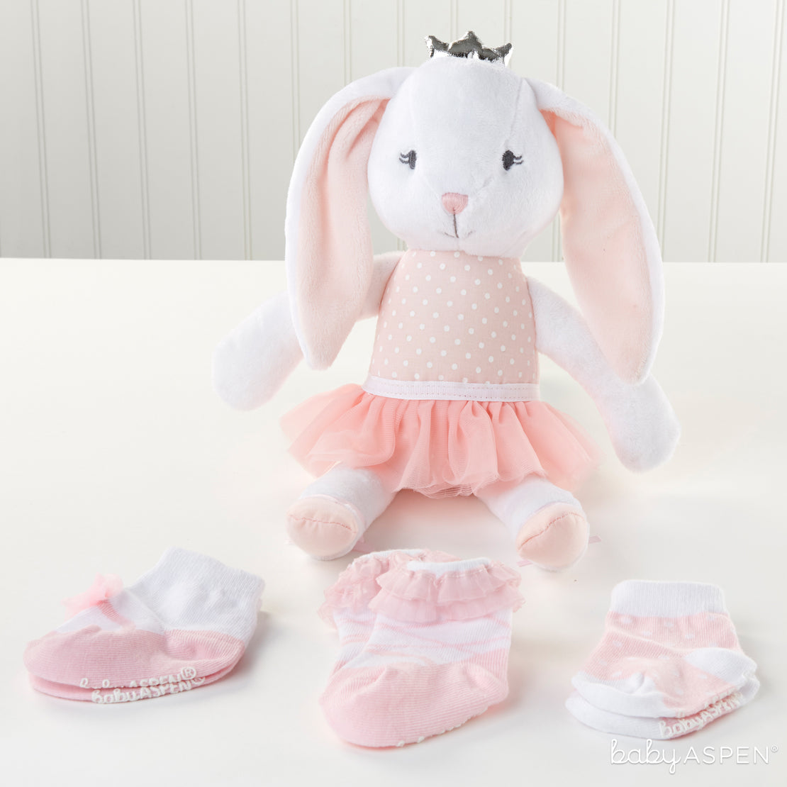 Brandy The Bunny | Plush Friends Every Baby Will Love | Baby Aspen