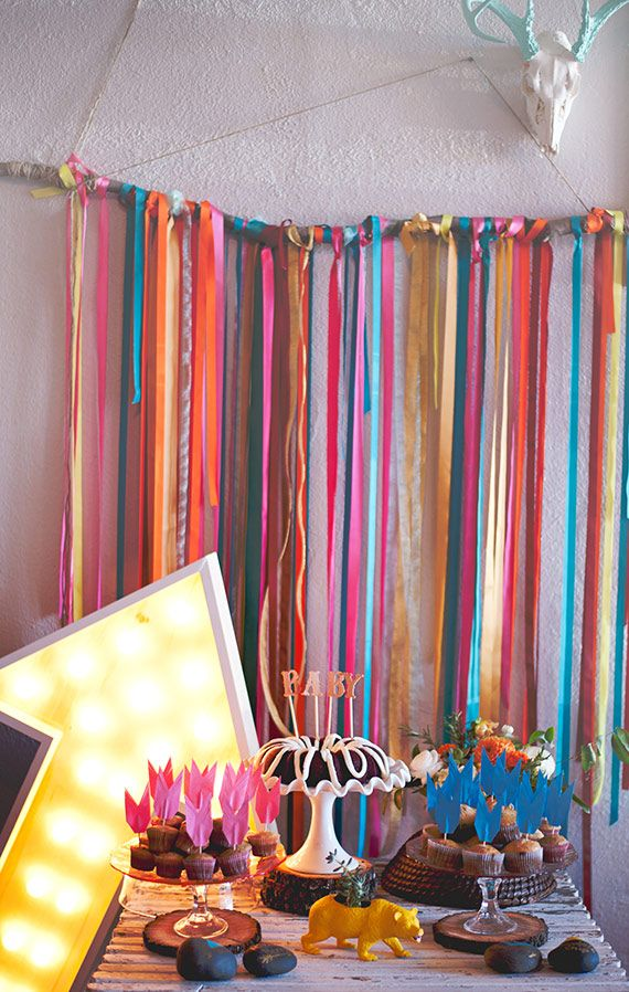 Bright Southwestern Baby Shower | Grit & Gold via 100 Layer Cake