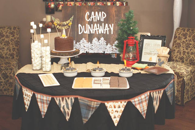 Camp Dunaway | Happy Camper Baby Shower | The Dways Blog